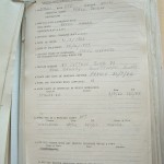 Pte Percy White Returning PoW Questionnaire Page 1