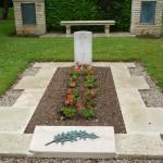 Lt Cornwall's grave