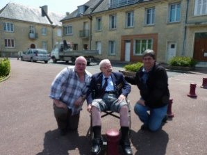 Colin & Glyn with Albert Figg